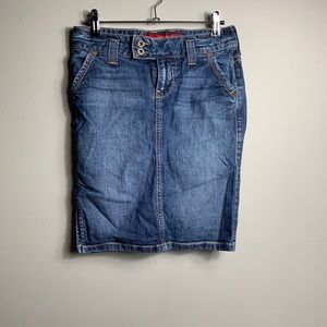 Guess jeans skirt
